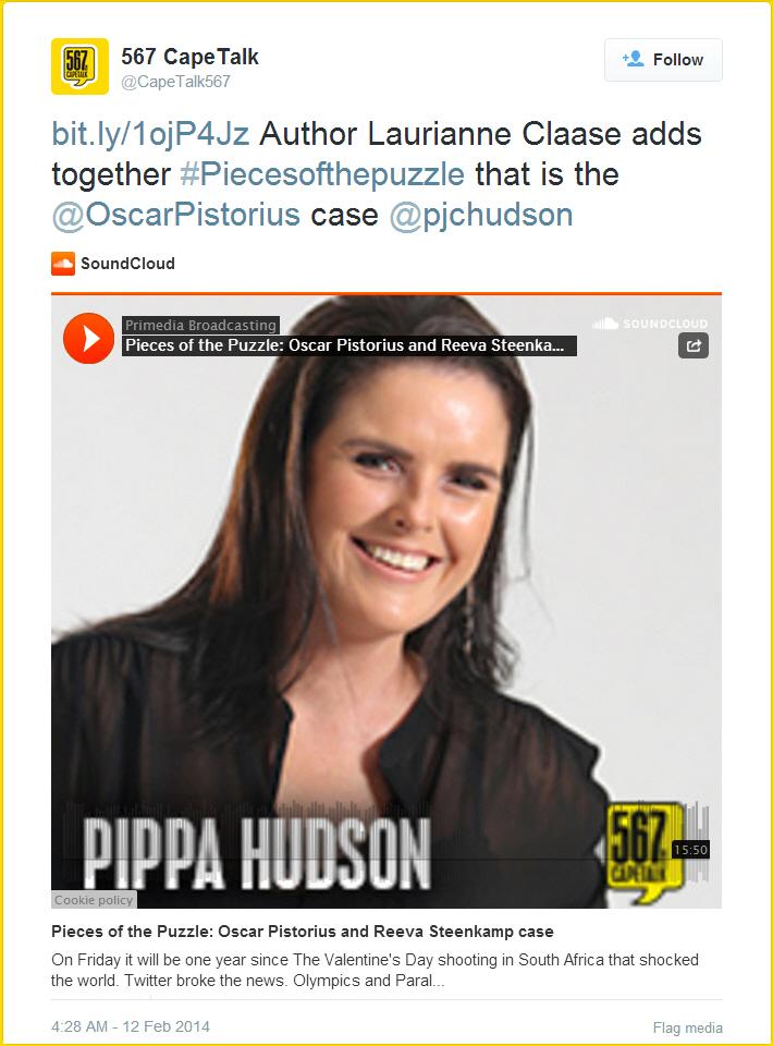 Pippa_Hudson_Cape_Talk_Interview_Tweet_2014-04-30 06-58-34_CROPPED